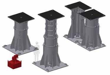 Комплект оборудования для подъема карьерных экскаваторов